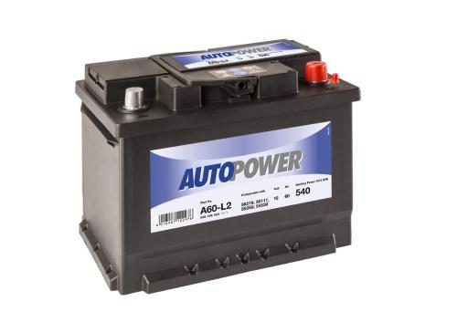 Акумулатор за кола AUTOPOWER 60Ah 540A R+
