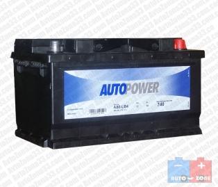 Акумулатор за кола AUTOPOWER 80Ah 740A R+