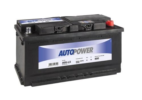 Акумулатор за кола AUTOPOWER 95Ah 800A R+