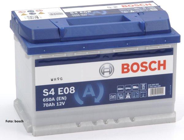 Акумулатор за кола BOSCH 0092S4E081 - 70Ah