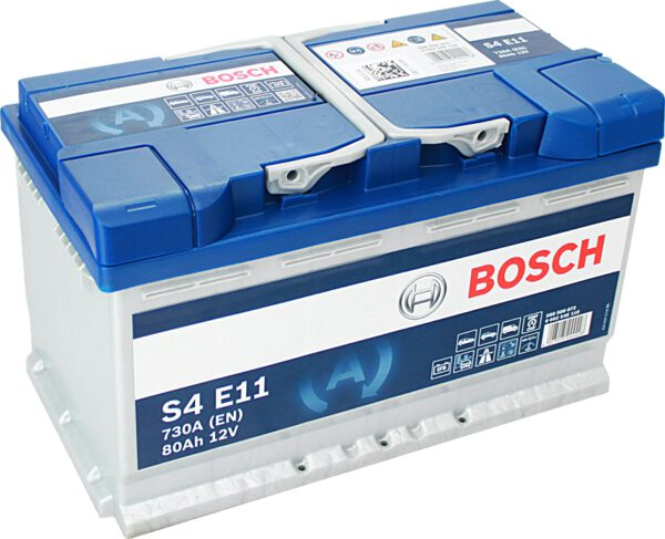 Акумулатор за кола BOSCH 0092S4E111 - 80Ah,