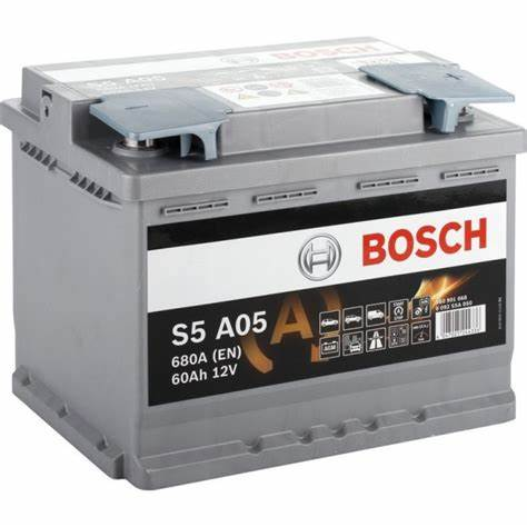 Акумулатор за кола BOSCH AGM 0092S5A050 - 60Ah, 680A