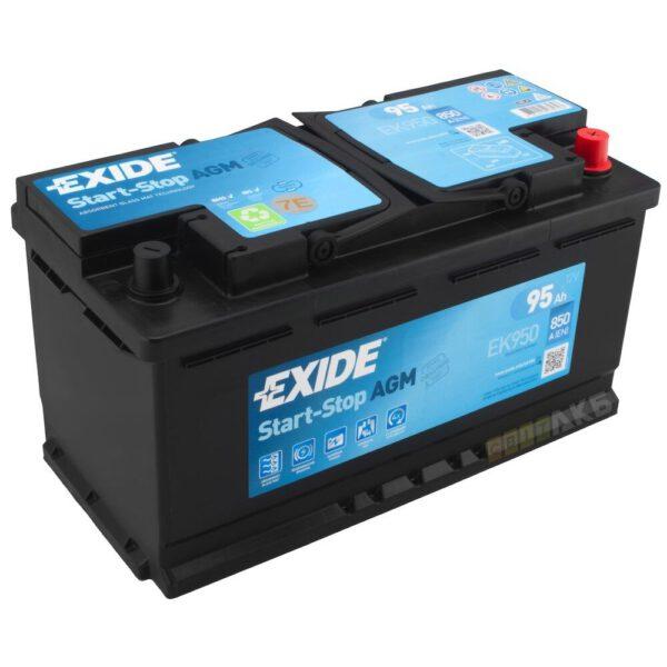 Акумулатор за кола EXIDE AGM 95Ah - EK950