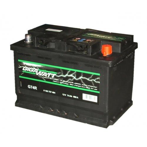 Акумулатор за кола GIGAWATT G74R, 74AH 680A