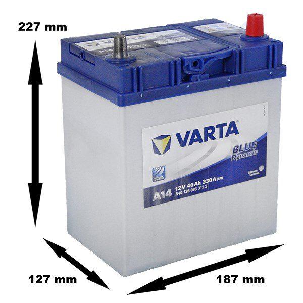 Акумулатор за кола VARTA 40Ah BLUE Dynamic A14