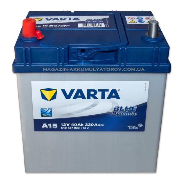 Акумулатор за кола VARTA 40Ah BLUE Dynamic A15, L+