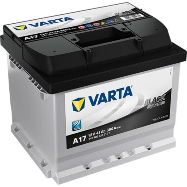 Акумулатор за кола VARTA 41AH BLACK DYNAMIC A17
