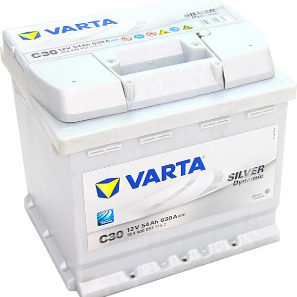 Акумулатор за кола VARTA 54AH SILVER DYNAMIC - C30