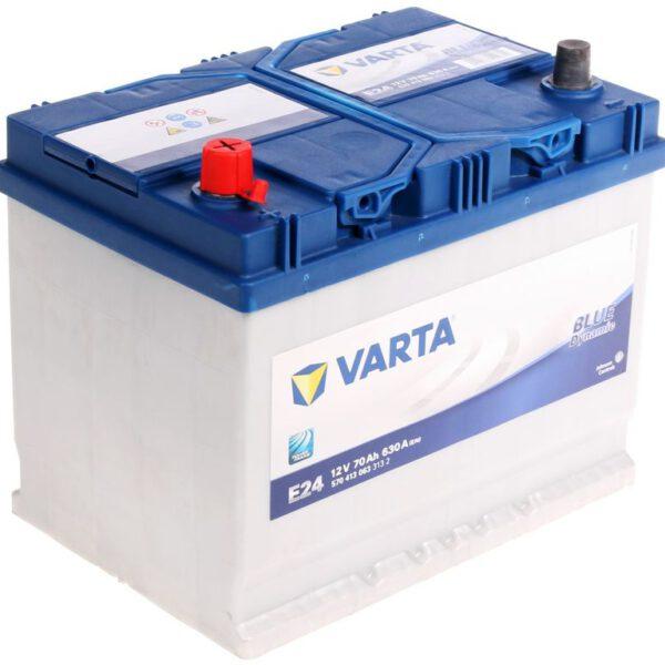 Акумулатор за кола VARTA 70Ah BLUE Dynamic J, Е24 L+