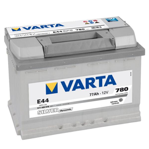 Акумулатор за кола VARTA 77AH SILVER DYNAMIC Е44