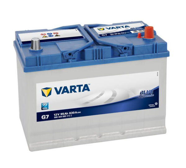 Акумулатор за кола VARTA 95AH BLUE DYNAMIC J, G7 R+