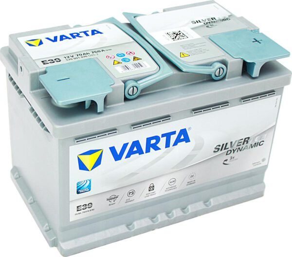 Акумулатор за кола VARTA SILVER DYNAMIC AGM 70Ah - 570901076