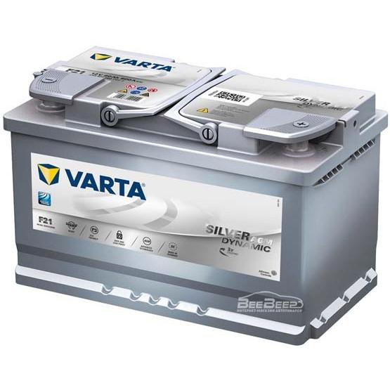 Акумулатор за кола VARTA SILVER DYNAMIC AGM 80Ah - 580901080