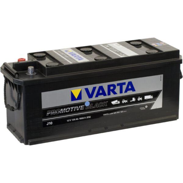 Акумулатор за товарни автомобили VARTA 635052100, 135AH , J10