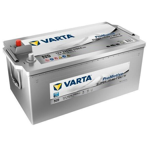 Акумулатор за товарни автомобили VARTA N9, 725103115, 225Ah 1150Ah