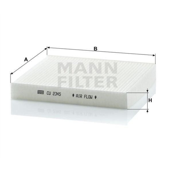 Филтър купе / кабинен филтър/ Magneti Marelli за NISSAN - 350203061590