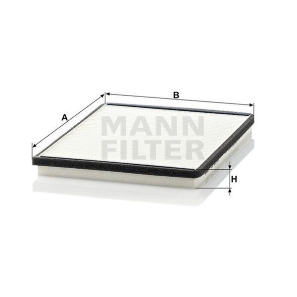 Филтър купе / кабинен филтър/ Magneti Marelli за NISSAN - BCF160