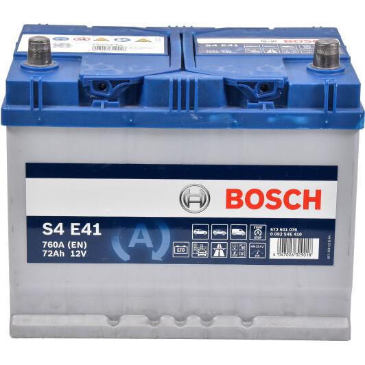 Акумулатор за кола BOSCH 0092S4E410 - 72Ah JIS