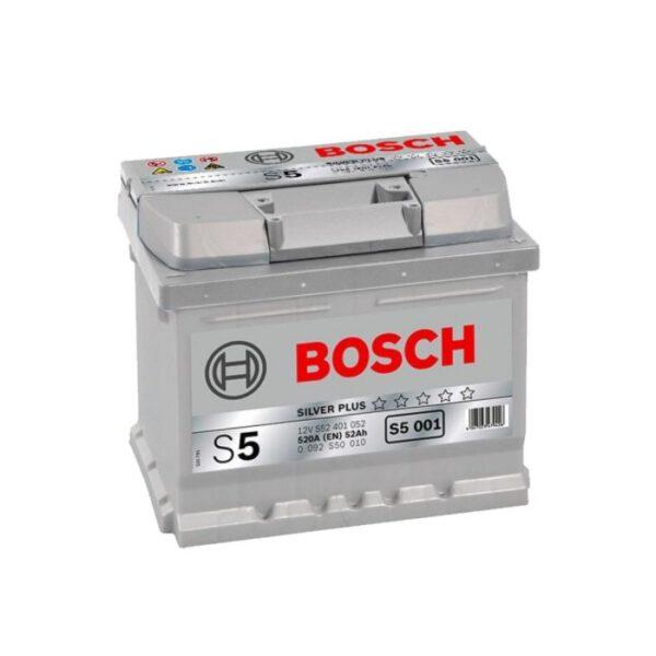 Акумулатор за кола BOSCH Silver Plus 0092S50010, 52Ah