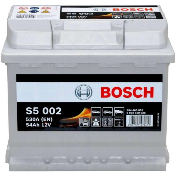 Акумулатор за кола BOSCH Silver Plus 0092S50020, 54Ah