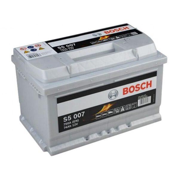 Акумулатор за кола BOSCH Silver Plus 0092S50070, 74Ah