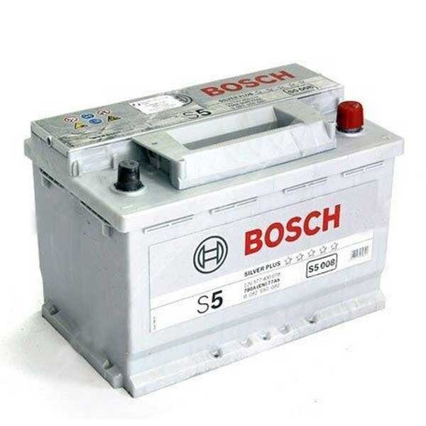 Акумулатор за кола BOSCH Silver Plus 0092S50080, 77Ah