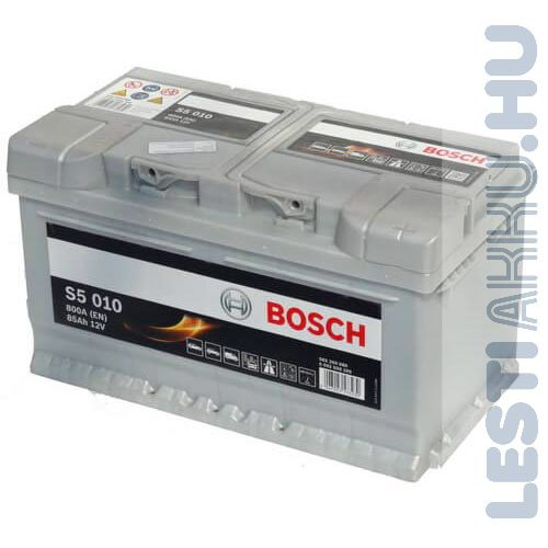 Акумулатор за кола BOSCH Silver Plus 0092S50100, 85Ah